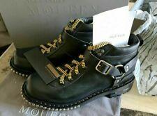 BNIB RRP £995 mens ALEXANDER MCQUEEN boots stud details size eu 42 uk 8