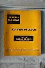 Cat Caterpillar No12 Motor Grader 99e1 Up Binder Service Manual