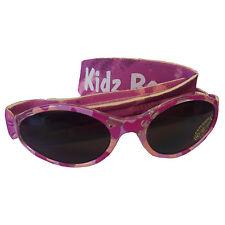Kidz banz lunettes de soleil enfants filles tons sangle réglable rose diva camo 2-5yrs