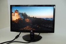"Compaq S1922a Wide LCD Monitor 18.5"" Black VGA DVI w/Speakers WM767A 605845-050"
