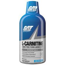 New GAT Sport L-Carnitine, Blue Raspberry Flavour, 32 servings