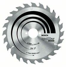 Bosch Optiline Lama legno sega circolare 160x20x36 2608640597