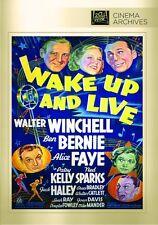 Wake Up And Live (1937) Walter Winchell, Ben Bernie, Alice Faye, Sidney Lanfield