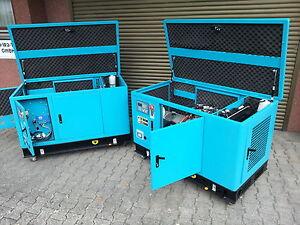 LPG Gas Generator 10kW Wassergekühllt mit Schallschutz für BHKW geeignet!!!