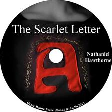 The Scarlet Letter, Nathaniel Hawthorne Audiobook Fiction English on 1 MP3 CD