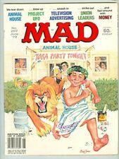 Mad #207 June 1979 VG Animal House