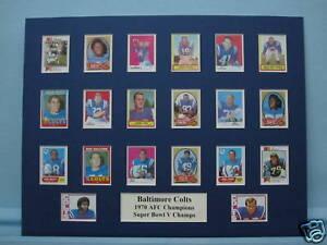 Baltimore Colts - 1970 AFC & Super Bowl V Champs