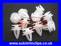 ROVER 25 MG ZR DOOR PANEL TRIM CLIPS X10