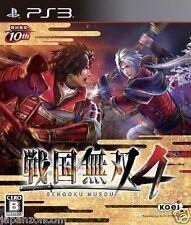 Used PS3 Sengoku Musou 4 SONY PLAYSTATION 3 JAPAN JAPANESE IMPORT