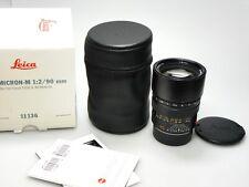 Leica Summicron-M 90mm F/2 E55 11136