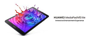 Huawei MediaPad M5 Lite 8 Inch Android 9.0 Tablet with Full HD Display (4G) LTE