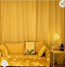 Usb 300 Led curtain lights with remote
