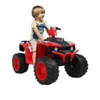 12V Electric Battery Kids ATV Ride On Car Toys 4 Wheels, Light, Music, Charger
