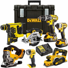 DeWalt 18V Li-Ion 7 Piece Monster Kit with 3 x 5.0AH Batteries & Charger in Box