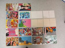Lot of 18 Unposted Postcards ~ 1979-1985 ~ 4 Explicit Images ~ Postcard Art