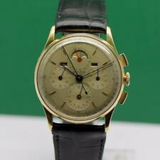 UNIVERSAL GENEVE TRI-COMPAX Ref. #122662 18K SOLID GOLD MEN'S WATCH