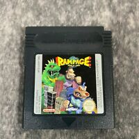 Rampage World Tour Nintendo Game Boy Color Advance Game Cart Only Genuine