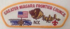 Greater Niagara Frontier Council BSA T1 CSP Cloth Back
