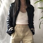 Tommy-Hilfiger-Runway-Collection-Navy-Leather-Biker-Jacket-W-Quilted-Lining