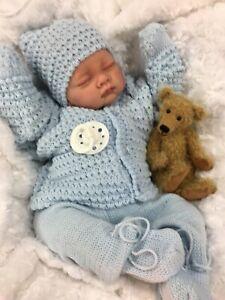 REBORN BOY HEAVY VALUE BABY FIRST REBORN SPANISH SET S 16