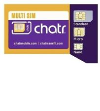 Chatr Multi Sim Card