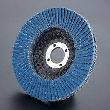100mm Flap Sanding Disc Grind Rotary Sandpaper Wheel 80 Grit Polish Accessories