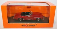 Maxichamps 1/43 Scale Diecast 940 033131 - Mercedes Benz 190 SL 1955 - Red