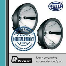 Hella Luminator Compact Metal Spotlight Black Halogen Lights x2 1F3 009 094-021