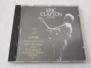 CD ROCK.  ERIC CLAPTON :  ERIC CLAPTON STORY.  1990.  Compilation