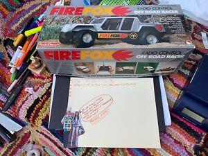 Rare Radio Elecon Shinsei Fire fox R/C  w/Original Box Untested Visually Nice 👍