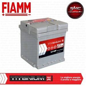BATTERIA AUTO FIAMM 44Ah 390A POSITIVO A DESTRA (+ DX) COD. L0 44+  - 7903739
