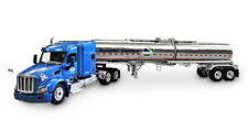 "1/64 DCP Superior Carriers - Peterbilt 579 with 72"" Mid-Roof Sleeper and Brenner"