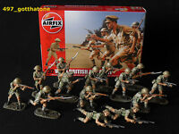 Airfix 1/32 British eighth army desert rats WW2. professionally painted. 54mm.