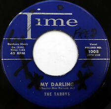 The TABBYS 45 My Darling / Yes I Do TIME label DOO WOP w6053