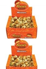 Reese's Peanut Butter Cups, Miniatures, 0.31 oz, 105-ct Per Box 2-count Boxes