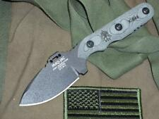 TPJAC01 Couteau Tops Iraq-Jac Lame Acier Carbone 1095 Etui Kydex Made USA