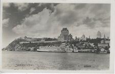 Canada Steamship Lines, Quebec City QC, Que Quebec Postcard RPPC