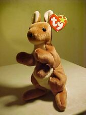 Retired Beanie Babies Pouch the Kangaro 11/6/1996