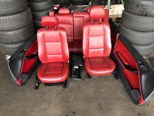 Bmw 3er E46 Coupe M-Paket Sport Lederausstattung Ledersitze rot inkl. Armlehne
