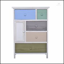 Modern Drawer Chest Multi Coloured Unit Wooden Storage Cabinet Dresser Sideboard