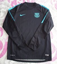 M STORM FIT CHAMPIONS FC BARCELONA PLAYER ISSUE BARÇA MATCH WORN NIKE BARÇA
