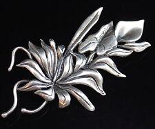 Flowers/Plants Silver Retro Costume Jewellery (1940s)