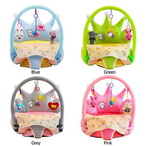 Support Seat Cover Washable Toddlers Learning To Sit Plush Chair Cradle Case