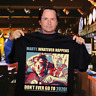 Marty McFly Don't Ever Go to 2020 Back to the Future Film T-shirt Black S-6XL