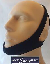 NEW CPAP Chin Restraint Chin Strap Black Support for CPAP sleep apnea