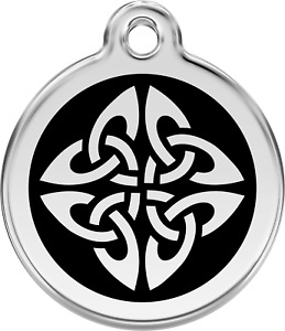 """Red Dingo """"Tribal Arrows"""" Dog & Cat ID Tag - Free Engraving - 11 Colours"""
