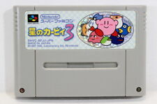 Kirby's Dream Land 3 Hoshi no SFC Nintendo Super Famicom SNES Japan Import I7759
