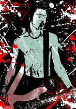 "Sid Vicious Graffiti 36"" x 24"" Poster"