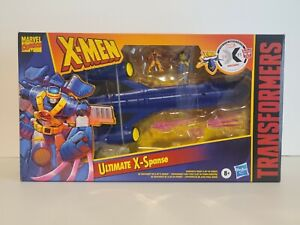 Marvel X-men x Transformers Collaboration Ultimate X-Spanse