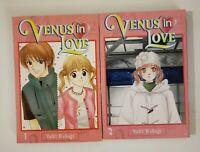 Venus in Love by Yuki Nakaji CMX English Manga Volumes 1-2